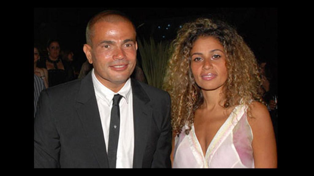 نتيجة بحث الصور عن عمرو دياب وزينة عاشور