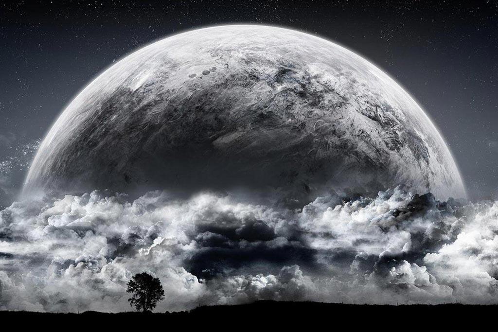 نتيجة بحث الصور عن صور القمر بدر