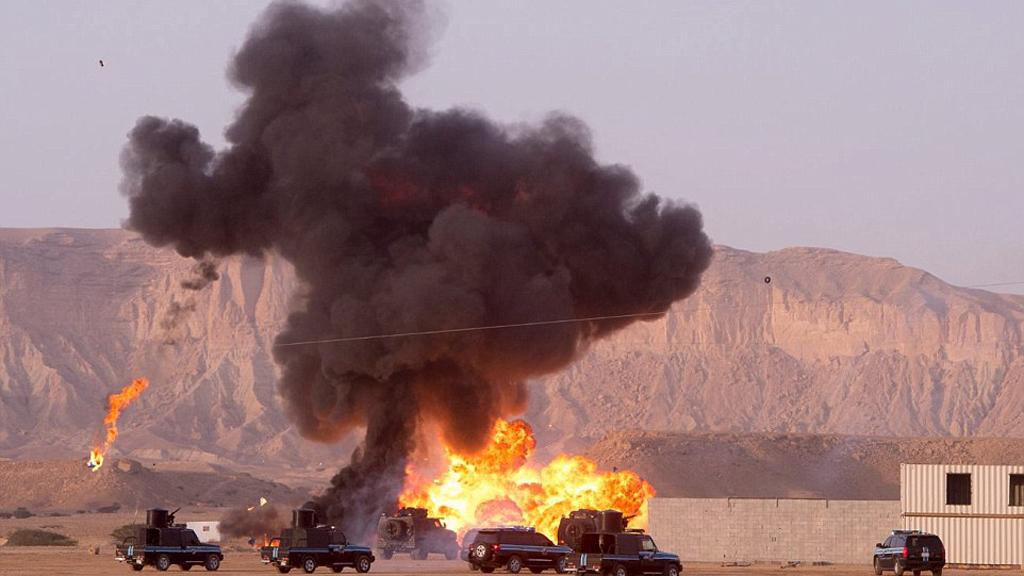 صور| تدريبات القوات الخاصة السعودية تذهل العالم